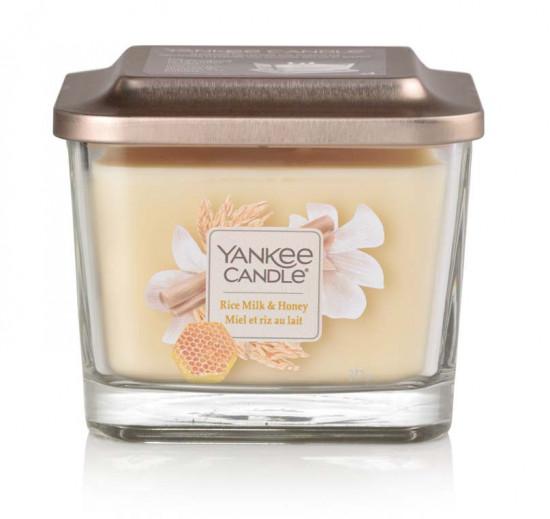 Aromatická svíčka, Yankee Candle Elevation Rice Milk & Honey, hoření až 38 hod-1154