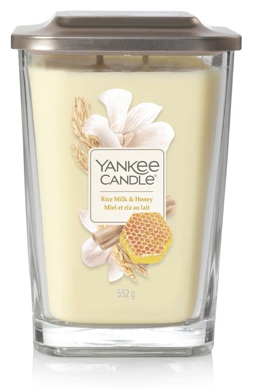 Aromatická svíčka, Yankee Candle Elevation Rice Milk & Honey, hoření až 80 hod-229