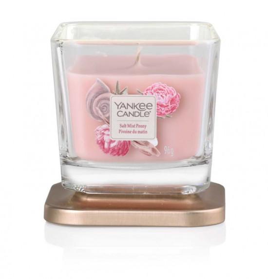 Aromatická svíčka, Yankee Candle Elevation Salt Mist Peony, hoření až 28 hod