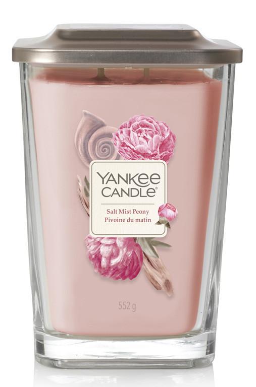 Aromatická svíčka, Yankee Candle Elevation Salt Mist Peony, hoření až 80 hod-349