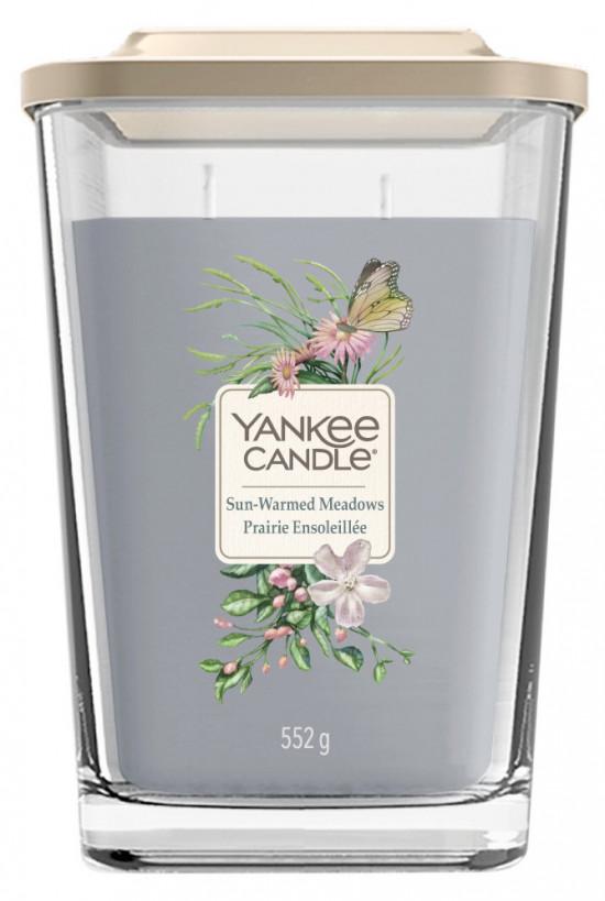 Aromatická svíčka, Yankee Candle Elevation Sun-Warmed Meadows, hoření až 80 hod