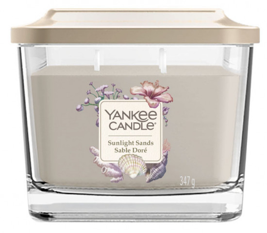 Aromatická svíčka, Yankee Candle Elevation Sunlight Sands, hoření až 38 hod