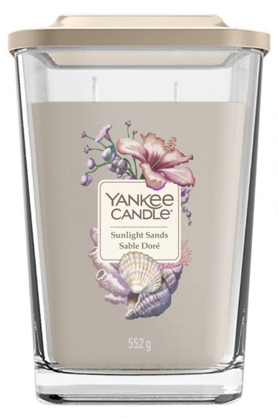 Aromatická svíčka, Yankee Candle Elevation Sunlight Sands, hoření až 80 hod