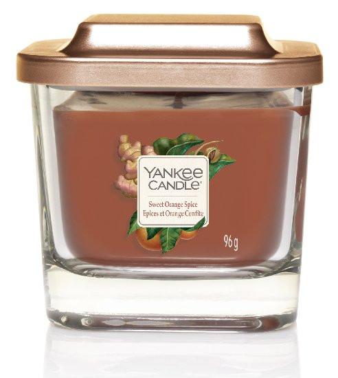 Aromatická svíčka, Yankee Candle Elevation Sweet Orange Spice, hoření až 28 hod-1177