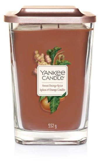 Aromatická svíčka, Yankee Candle Elevation Sweet Orange Spice, hoření až 80 hod