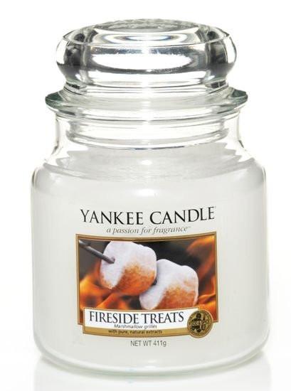 Aromatická svíčka, Yankee Candle Fireside Treats, hoření až 75 hod-4785