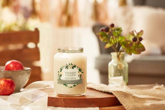 Aromatická svíčka, Yankee Candle French Vanilla, hoření až 150 hod-4862