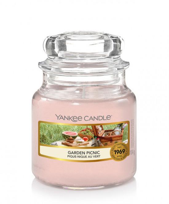 Aromatická svíčka, Yankee Candle Garden Picnic, hoření až 30 hod-4881