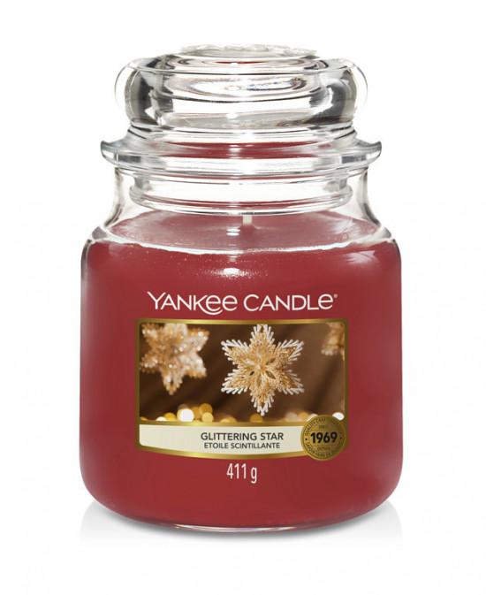 Aromatická svíčka, Yankee Candle Glittering Star, hoření až 75 hod