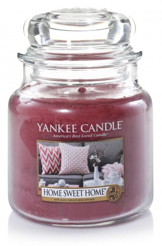 Aromatická svíčka, Yankee Candle Home Sweet Home, hoření až 75 hod-921