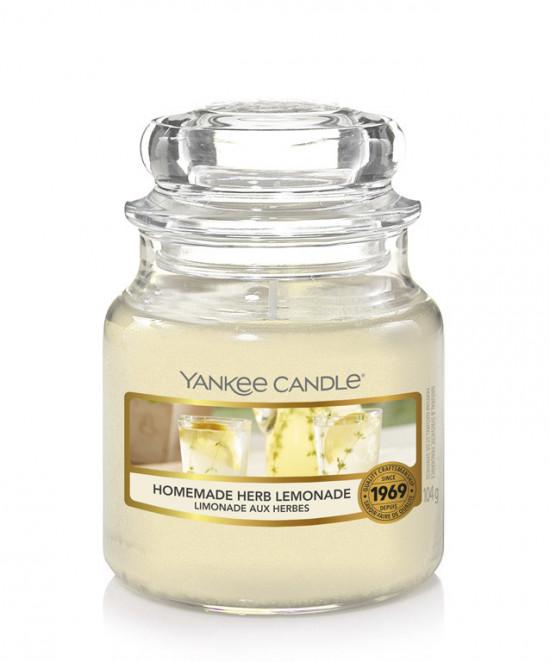 Aromatická svíčka, Yankee Candle Homemade Herb Lemonade, hoření až 30 hod-1175