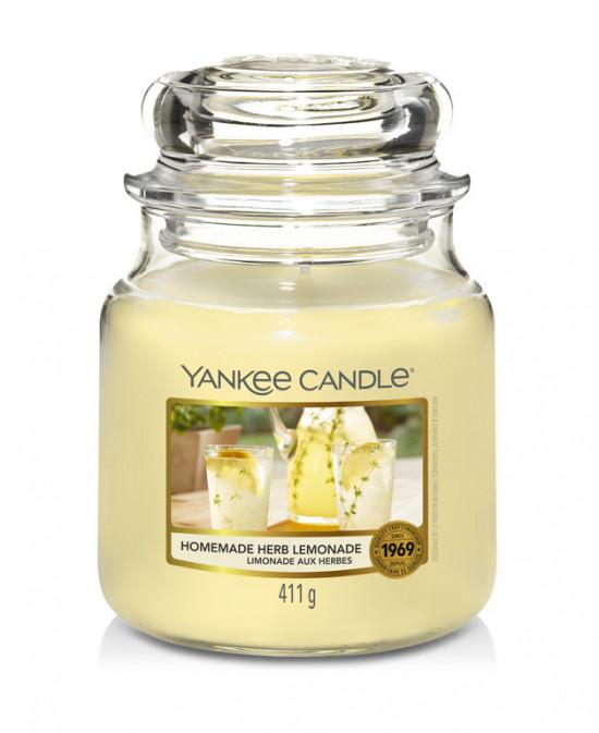 Aromatická svíčka, Yankee Candle Homemade Herb Lemonade, hoření až 75 hod