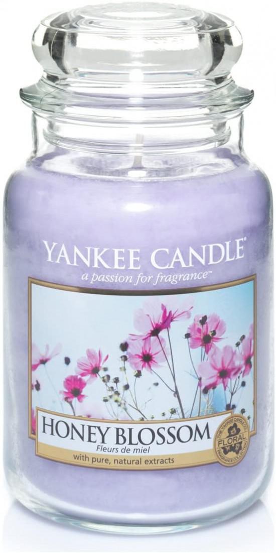 Aromatická svíčka, Yankee Candle Honey Blossom, hoření až 150 hod