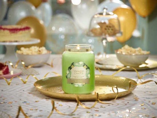 Aromatická svíčka, Yankee Candle Honeydew Melon, hoření až 150 hod-4852