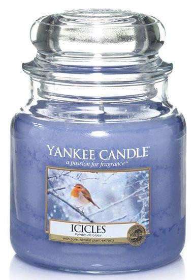 Aromatická svíčka, Yankee Candle Icicles, hoření až 75 hod-4792
