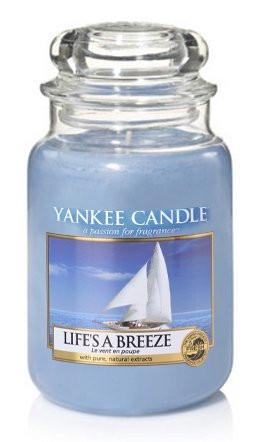 Aromatická svíčka, Yankee Candle Life's a Breeze, hoření až 150 hod-4832