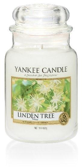 Aromatická svíčka, Yankee Candle Linden Tree, hoření až 150 hod