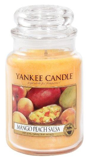 Aromatická svíčka, Yankee Candle Mango Peach Salsa, hoření až 150 hod-1083