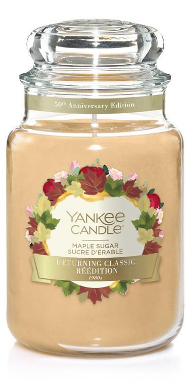 Aromatická svíčka, Yankee Candle Maple Sugar, hoření až 150 hod-4855