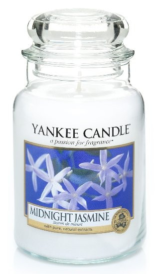 Aromatická svíčka, Yankee Candle Midnight Jasmine, hoření až 150 hod