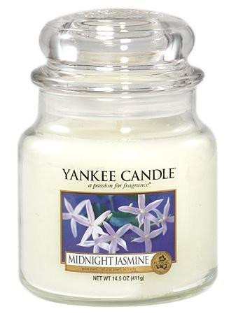 Aromatická svíčka, Yankee Candle Midnight Jasmine, hoření až 75 hod-188