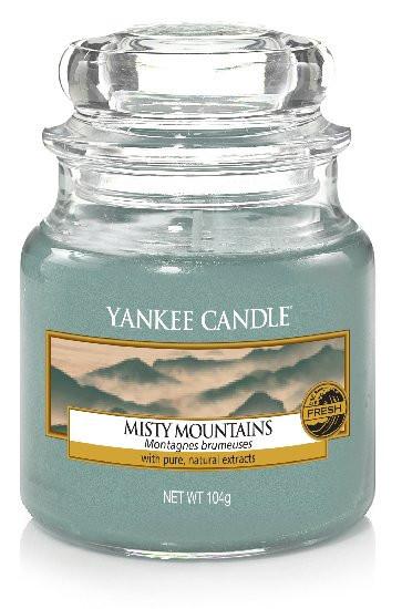 Aromatická svíčka, Yankee Candle Misty Mountains, hoření až 30 hod