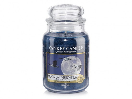 Aromatická svíčka, Yankee Candle Moon on Their Wings, hoření až 150 hod-3606