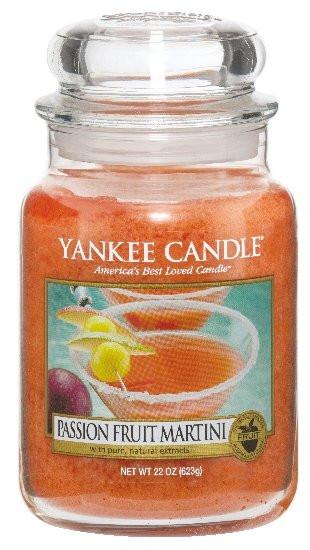 Aromatická svíčka, Yankee Candle Passion Fruit Martini, hoření až 150 hod-807