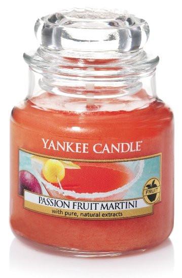 Aromatická svíčka, Yankee Candle Passion Fruit Martini, hoření až 30 hod