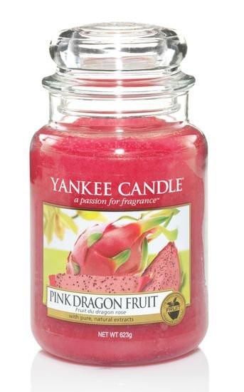 Aromatická svíčka, Yankee Candle Pink Dragon Fruit, hoření až 150 hod-4780