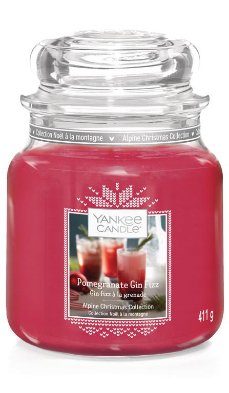 Aromatická svíčka, Yankee Candle Pomegranate Gin, hoření až 75 hod