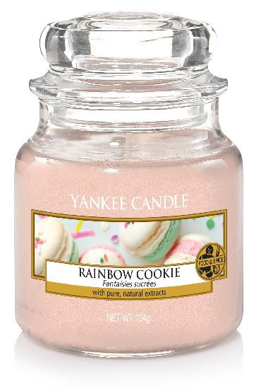 Aromatická svíčka, Yankee Candle Rainbow Cookie, hoření až 30 hod-877