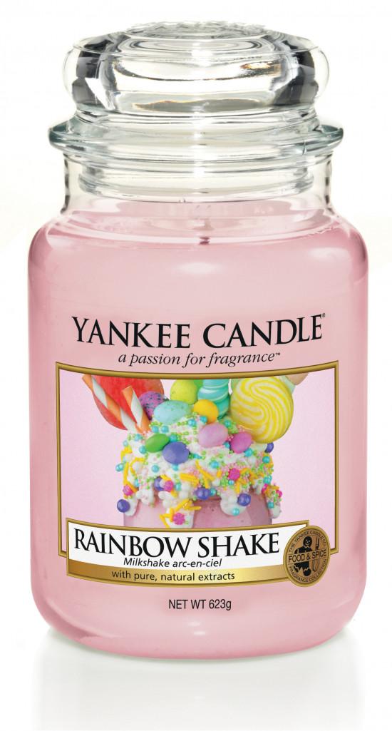 Aromatická svíčka, Yankee Candle Rainbow Shake, hoření až 150 hod-4850