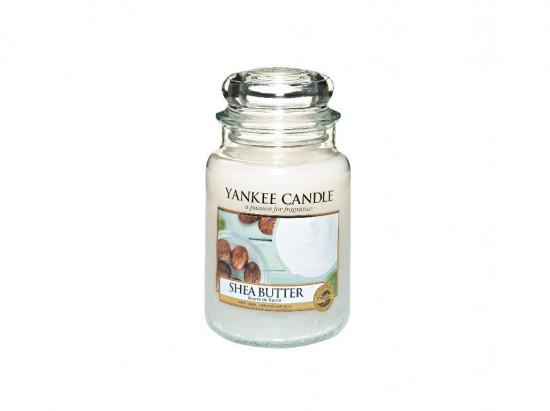 Aromatická svíčka, Yankee Candle Shea Butter, hoření až 150 hod-3381