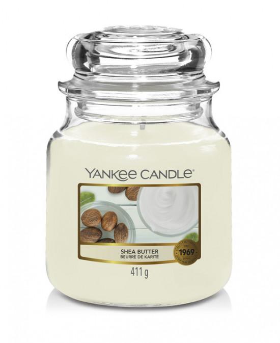 Aromatická svíčka, Yankee Candle Shea Butter, hoření až 75 hod-4794