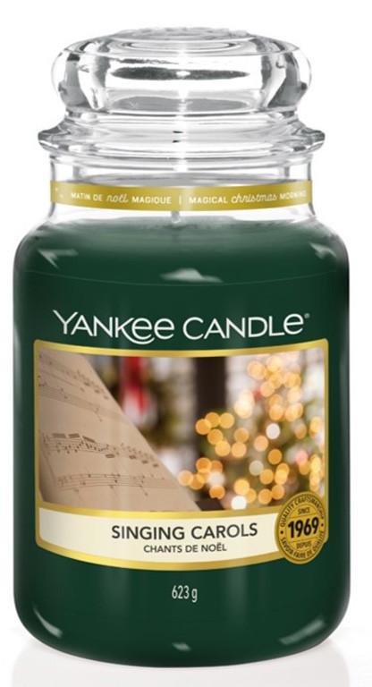 Aromatická svíčka, Yankee Candle Singing Carols, hoření až 150 hod-4949