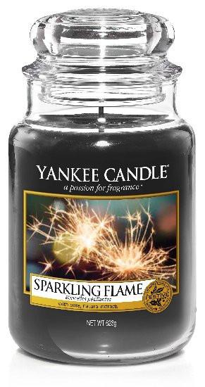 Aromatická svíčka, Yankee Candle Sparkling Flame, hoření až 150 hod