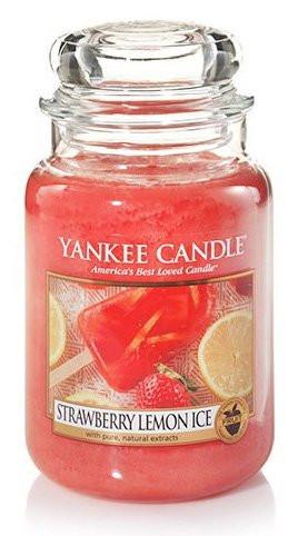 Aromatická svíčka, Yankee Candle Strawberry Lemon, hoření až 150 hod