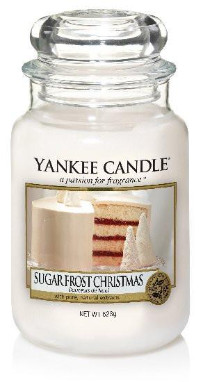 Aromatická svíčka, Yankee Candle Sugar Froste Christmas, hoření až 150 hod-4837