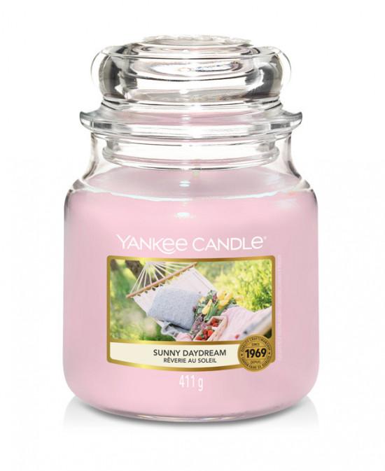 Aromatická svíčka, Yankee Candle Sunny Daydream, hoření až 75 hod-1187
