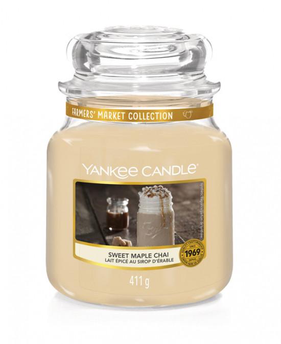 Aromatická svíčka, Yankee Candle Sweet Maple Chai, hoření až 75 hod