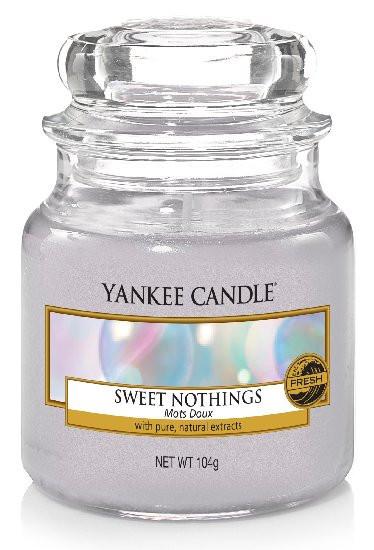 Aromatická svíčka, Yankee Candle Sweet Nothings, hoření až 30 hod-669