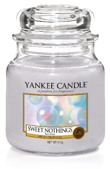 Aromatická svíčka, Yankee Candle Sweet Nothings, hoření až 75 hod-1136