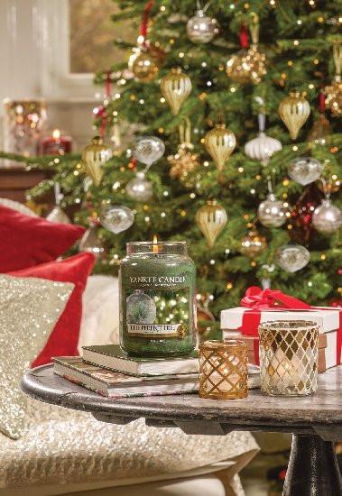 Aromatická svíčka, Yankee Candle The Perfect Tree, hoření až 150 hod-403