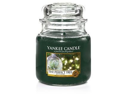 Aromatická svíčka, Yankee Candle The Perfect Tree, hoření až 75 hod-1458
