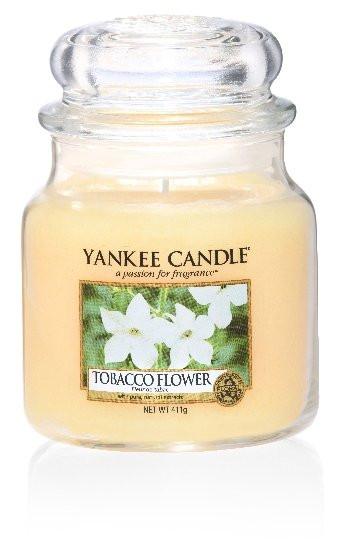 Aromatická svíčka, Yankee Candle Tobacco Flower, hoření až 75 hod