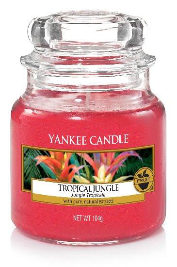Aromatická svíčka, Yankee Candle Tropical Jungle, hoření až 30 hod-393