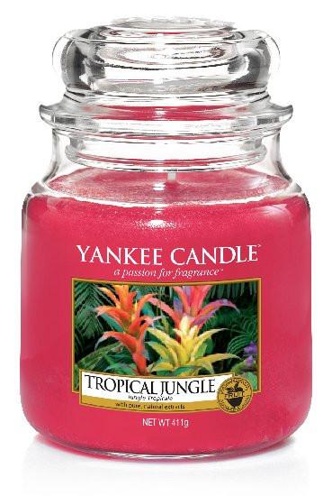 Aromatická svíčka, Yankee Candle Tropical Jungle, hoření až 75 hod