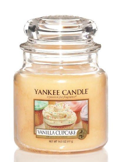 Aromatická svíčka, Yankee Candle Vanilla Cupcake, hoření až 75 hod-848