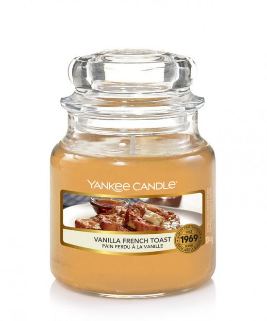 Aromatická svíčka, Yankee Candle Vanilla French Toast, hoření až 30 hod-4948